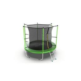 JUMP Internal 8ft (Green) Батут с внутренней сеткой и лестницей, диаметр 8ft (зеленый)