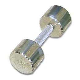 MB-FitM-10 Гантель хромированная для фитнеса 10 кг
