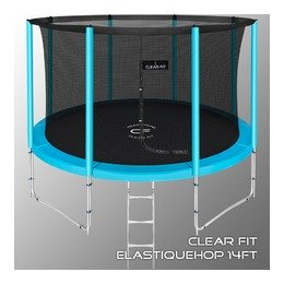 Батут Clear Fit ElastiqueHop 14Ft