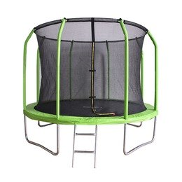 Батут BONDY SPORT 8FT зеленый (green)
