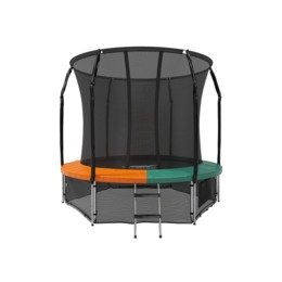Батут Eclipse Space Twin Green/Orange 8FT