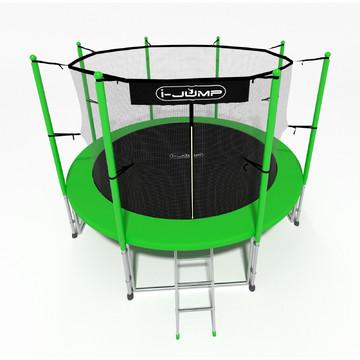Батут i-JUMP Classic 6ft (1,83 м) с лестницей (green)