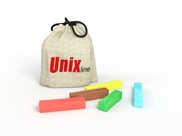 Мелки для рисования на батуте UNIX line (5шт.)