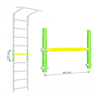 Вставка для увеличения высоты ДСКМ 490 Romana Dop9