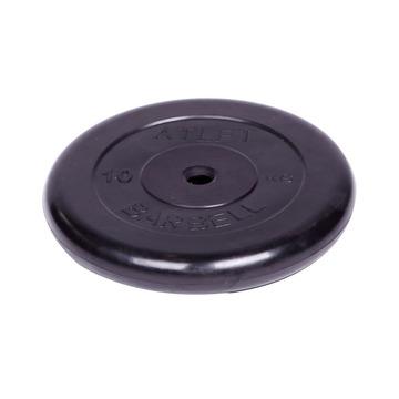 Диск обрезиненный черный (d26мм 10 кг)