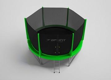 Jump 12FT зеленый Батут